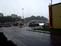 1029 caught in rain in Pigeon Forge