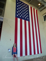 210 WWII museum Judy flag